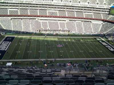 MetLife Stadium section 340