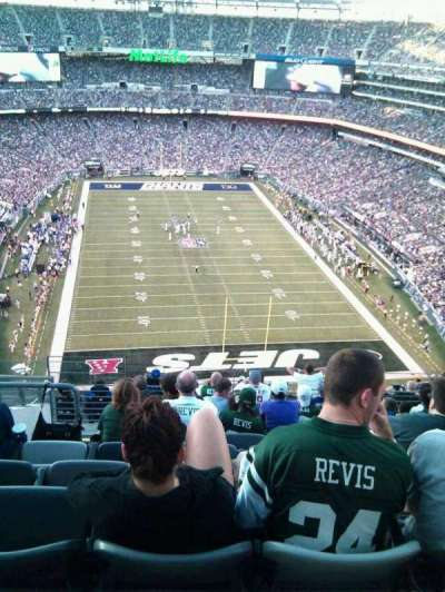 MetLife Stadium section 327