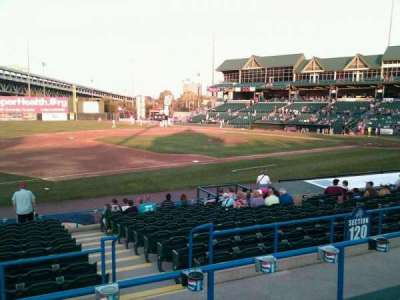 Campbell's Field, section: 218, row: p, seat: 15
