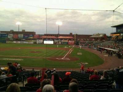 Clipper Magazine Stadium section 17