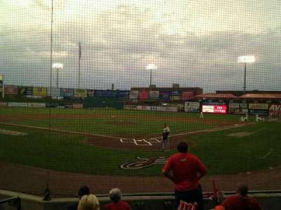 Clipper Magazine Stadium, section: 15, row: g, seat: 6