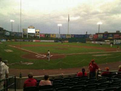 Clipper Magazine Stadium, section: 13, row: i, seat: 8