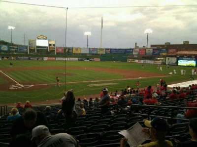 Clipper Magazine Stadium, section: 12, row: t, seat: 8