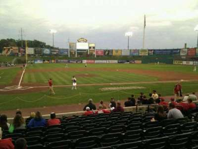 Clipper Magazine Stadium, section: 11, row: l, seat: 9