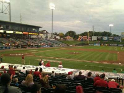 Clipper Magazine Stadium, section: 8, row: o, seat: 3