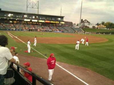 Clipper Magazine Stadium, section: 1, row: i, seat: 1