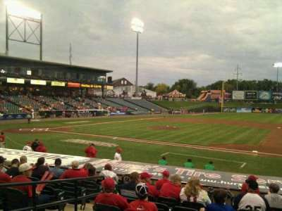 Clipper Magazine Stadium, section: 7, row: m, seat: 6