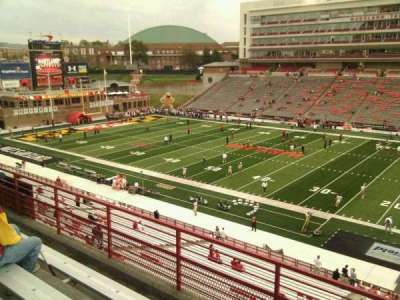 Maryland Stadium, section: 209, row: d, seat: 17