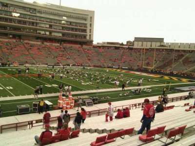 Maryland Stadium, section: 4, row: z, seat: 17