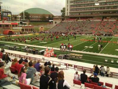 Maryland Stadium, section: 6, row: x, seat: 14