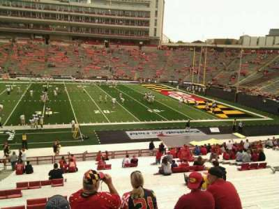 Maryland Stadium, section: 7, row: jj, seat: 7
