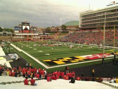 Maryland Stadium, section: 12, row: ff, seat: 17
