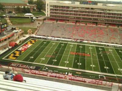 Maryland Stadium, section: 306, row: v, seat: 17