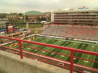 Maryland Stadium, section: 309, row: h, seat: 19