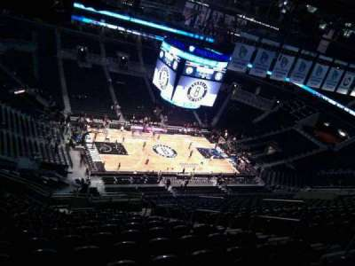 Barclays Center, section: 227, row: 18, seat: 9