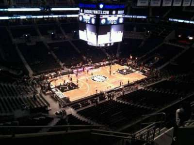 Barclays Center, section: 227, row: 8, seat: 11