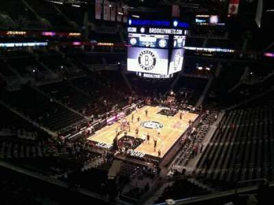 Barclays Center, section: 230, row: 7, seat: 8