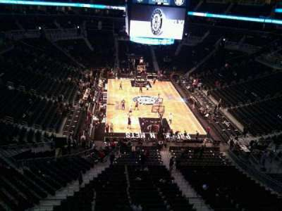 Barclays Center, section: 201, row: 3, seat: 14