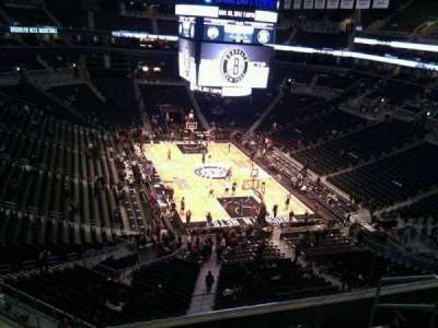 Barclays Center, section: 202, row: 6, seat: 6