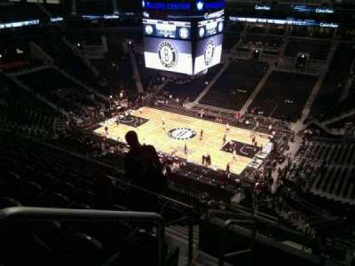 Barclays Center, section: 205, row: 11, seat: 18