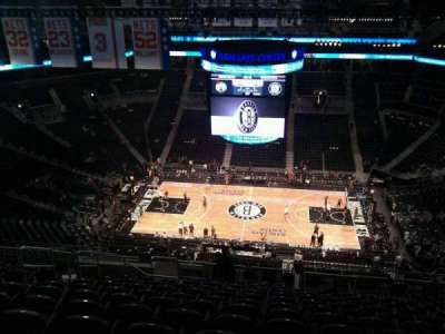 Barclays Center, section: 207, row: 17, seat: 19