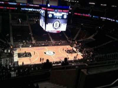 Barclays Center, section: 210, row: 9, seat: 5