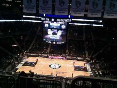 Barclays Center, section: 223, row: 8, seat: 18