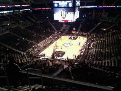 Barclays Center, section: 214, row: 6, seat: 14