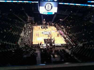 Barclays Center, section: 217, row: 13, seat: 9