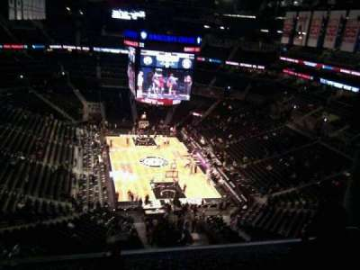 Barclays Center, section: 217, row: 13, seat: 19
