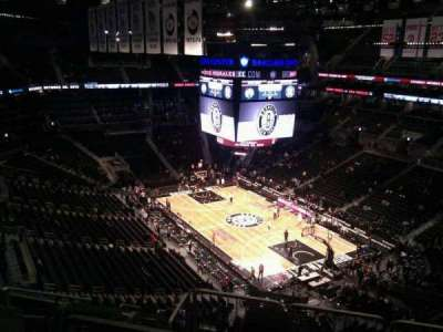 Barclays Center, section: 219, row: 12, seat: 11