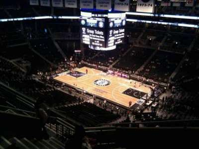 Barclays Center, section: 221, row: 17, seat: 1