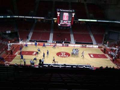 Liacouras Center, section: 203, row: m, seat: 13