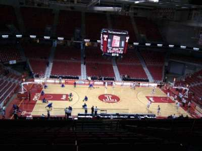 Liacouras Center, section: 204, row: q, seat: 5