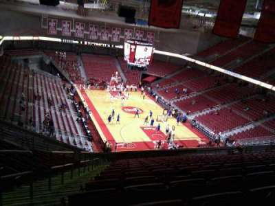 Liacouras Center, section: 209, row: t, seat: 24