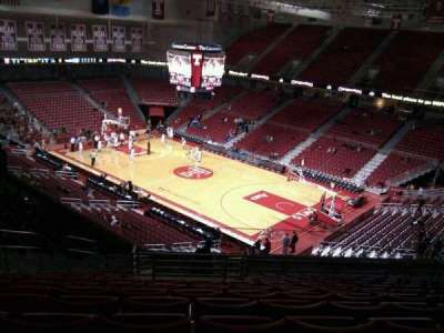 Liacouras Center, section: 210, row: p, seat: 30