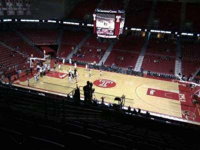 Liacouras Center, section: 212, row: l, seat: 8