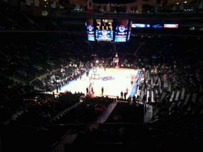 Madison Square Garden, section: 205, row: 2, seat: 1