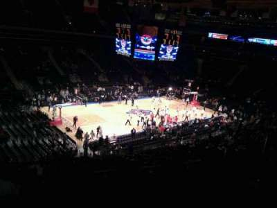 Madison Square Garden, section: 208, row: 6, seat: 13