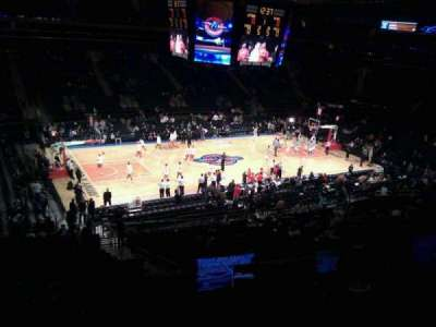 Madison Square Garden, section: 209, row: 4, seat: 9