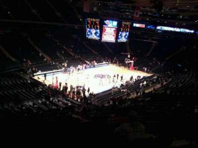 Madison Square Garden, section: 220, row: 7, seat: 21