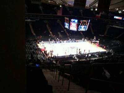 Madison Square Garden, section: 221, row: 22, seat: 23