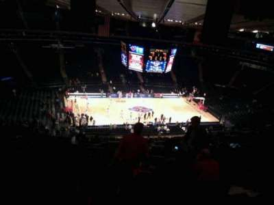 Madison Square Garden, section: 222, row: 24, seat: 26