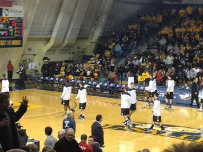 Tom Gola Arena, section: W2