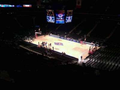 Madison Square Garden, section: 227, row: 11, seat: 7