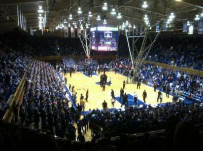 Cameron Indoor Stadium, section: 2, row: L, seat: 24