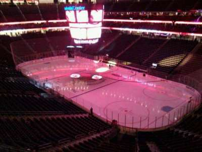 Prudential Center, section: 133, row: 2, seat: 9