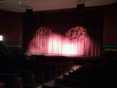Landis Theater, section: orchestra right, row: r, seat: 8