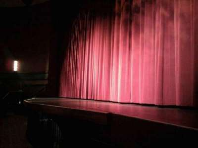 Landis Theater, section: orchestra right, row: a, seat: 8