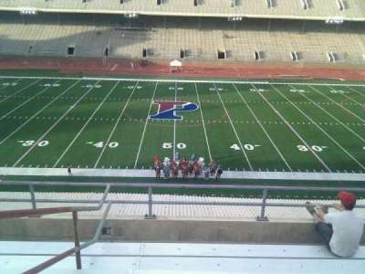 Franklin Field, section: usg, row: 8, seat: 11